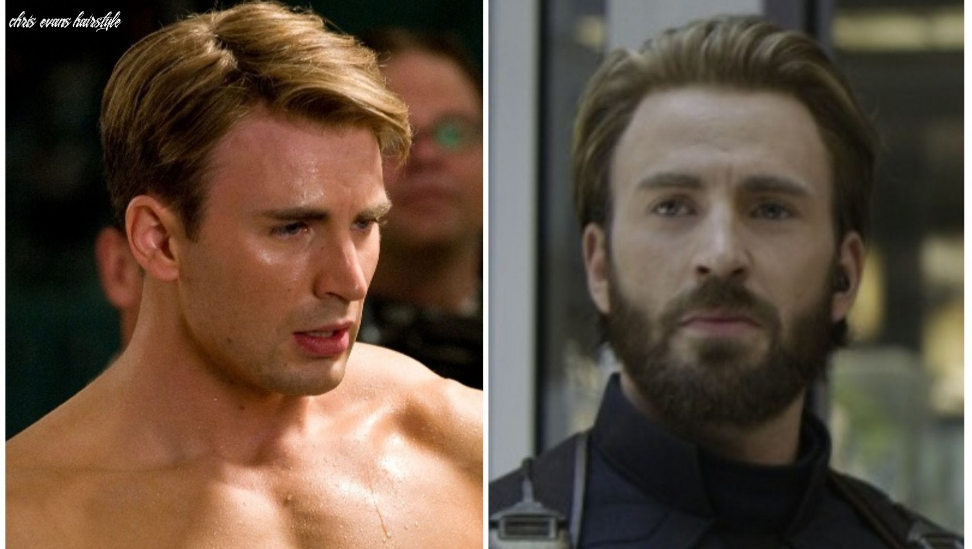 Captain america infinity war haircut which haircut suits my face chris evans hairstyle