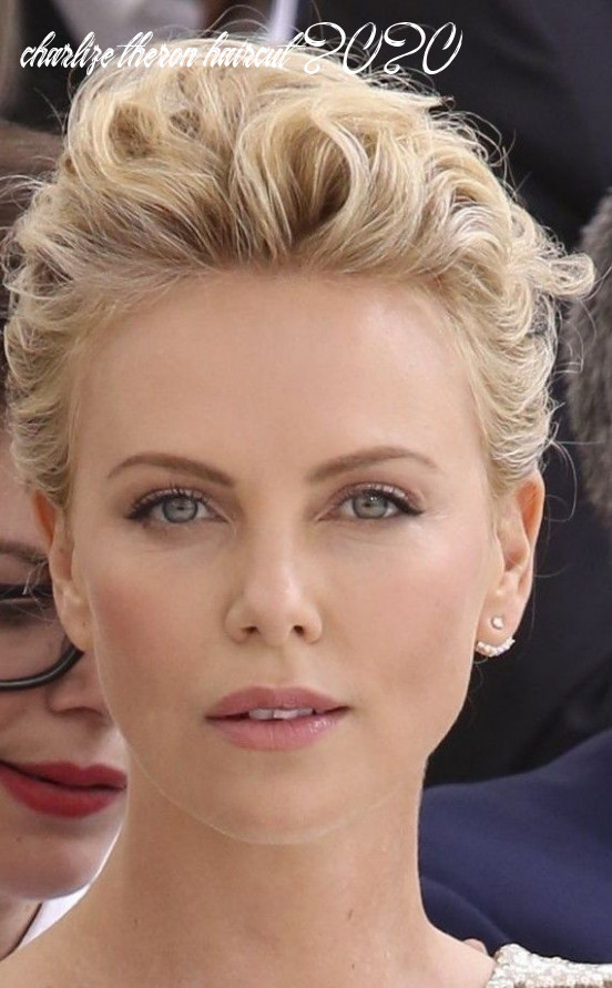 Charlize Theron | Charlize theron short hair, Short hair styles ...