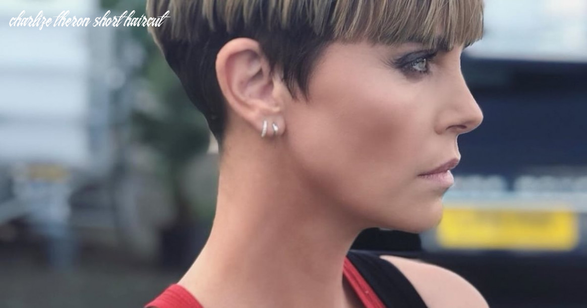 Charlize theron debuts bowl cut for new movie fast 10 | popsugar beauty charlize theron short haircut