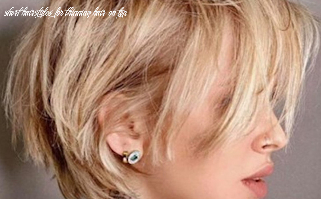 Chic & Flattering Short Hairstyles For Thin Hair | Fashionisers©