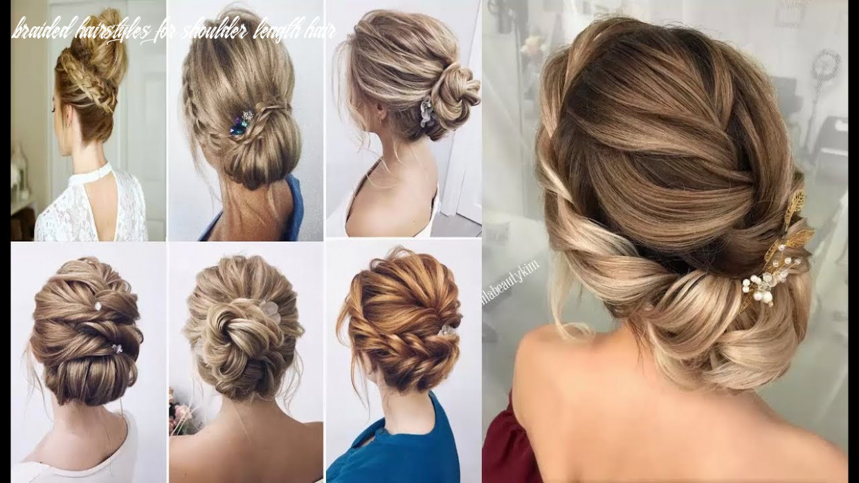 Chic braided hairstyles medium length hair how to braided