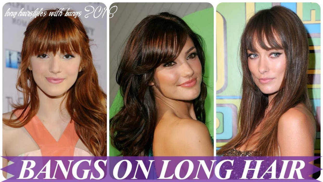 Chic hairstyles for long hair with bangs 10 for women youtube long hairstyles with bangs 2018