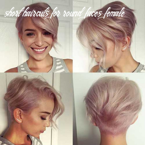 Chic short hair ideas for round faces short haircuts for round faces female
