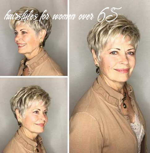 Chic Short Haircuts for Women Over 9