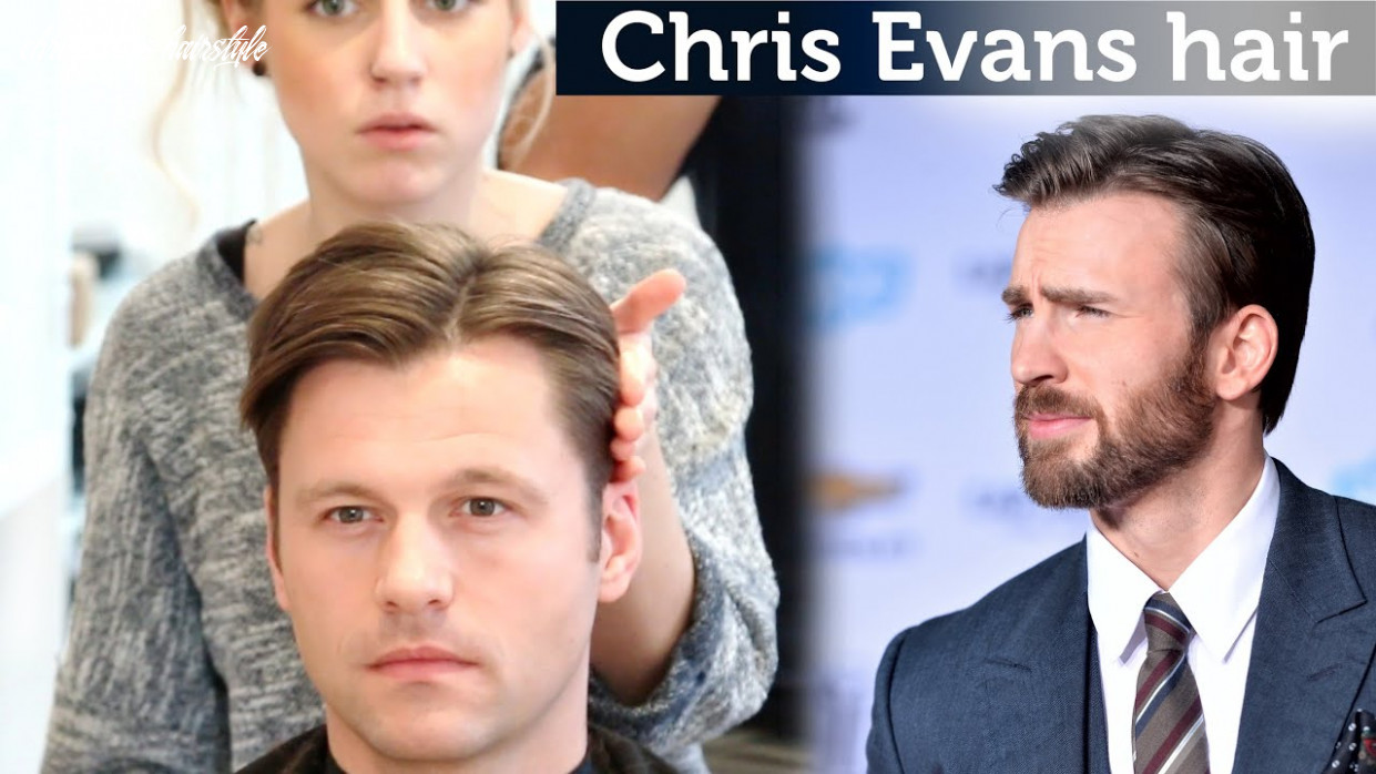 Chris evans hair video | classic hairstyle for men | medium length hair chris evans hairstyle