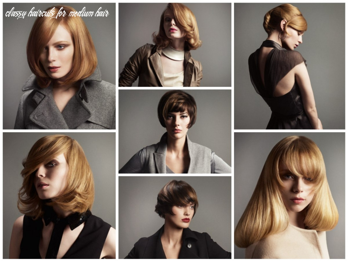 Classy hairstyles for short, medium and long hair with focus on bangs classy haircuts for medium hair