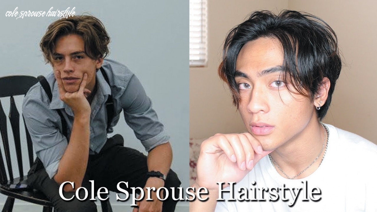 Cole sprouse hairstyle tutorial cole sprouse hairstyle