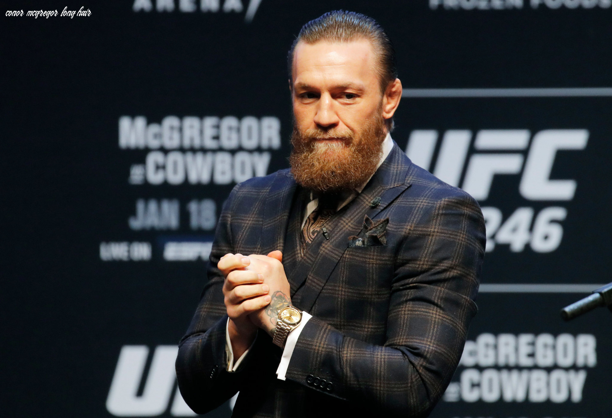 Conor mcgregor and u f c attempt a shift away from heel status