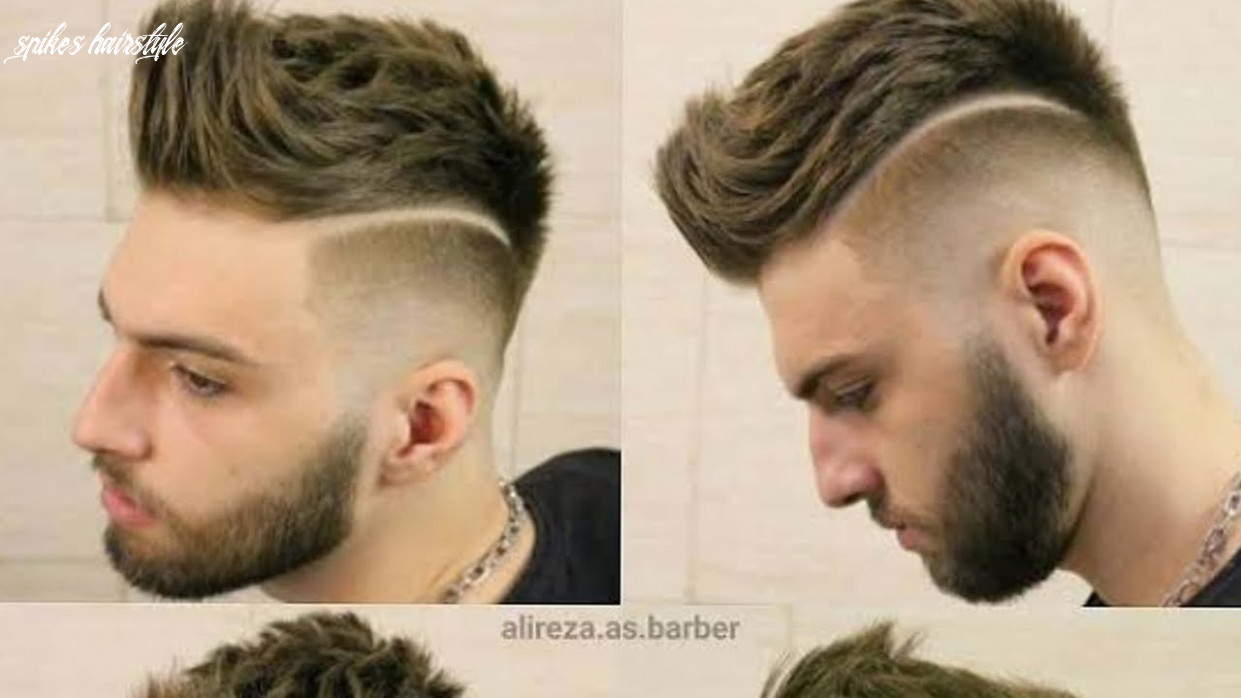 Cool & funky front spikes hairstyle for men 9 & 9 spikes hairstyle