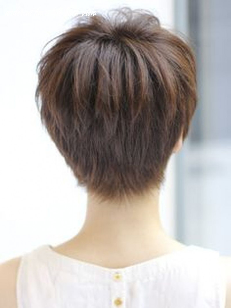 Cool back view undercut pixie haircut hairstyle ideas 10 - Fashion ...