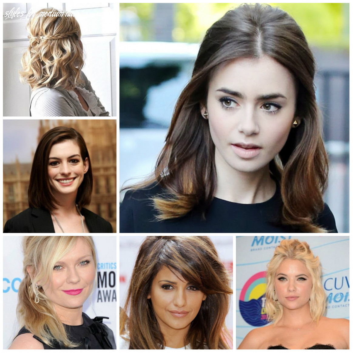 Cool hairstyles for medium-length hair - hairstyleto