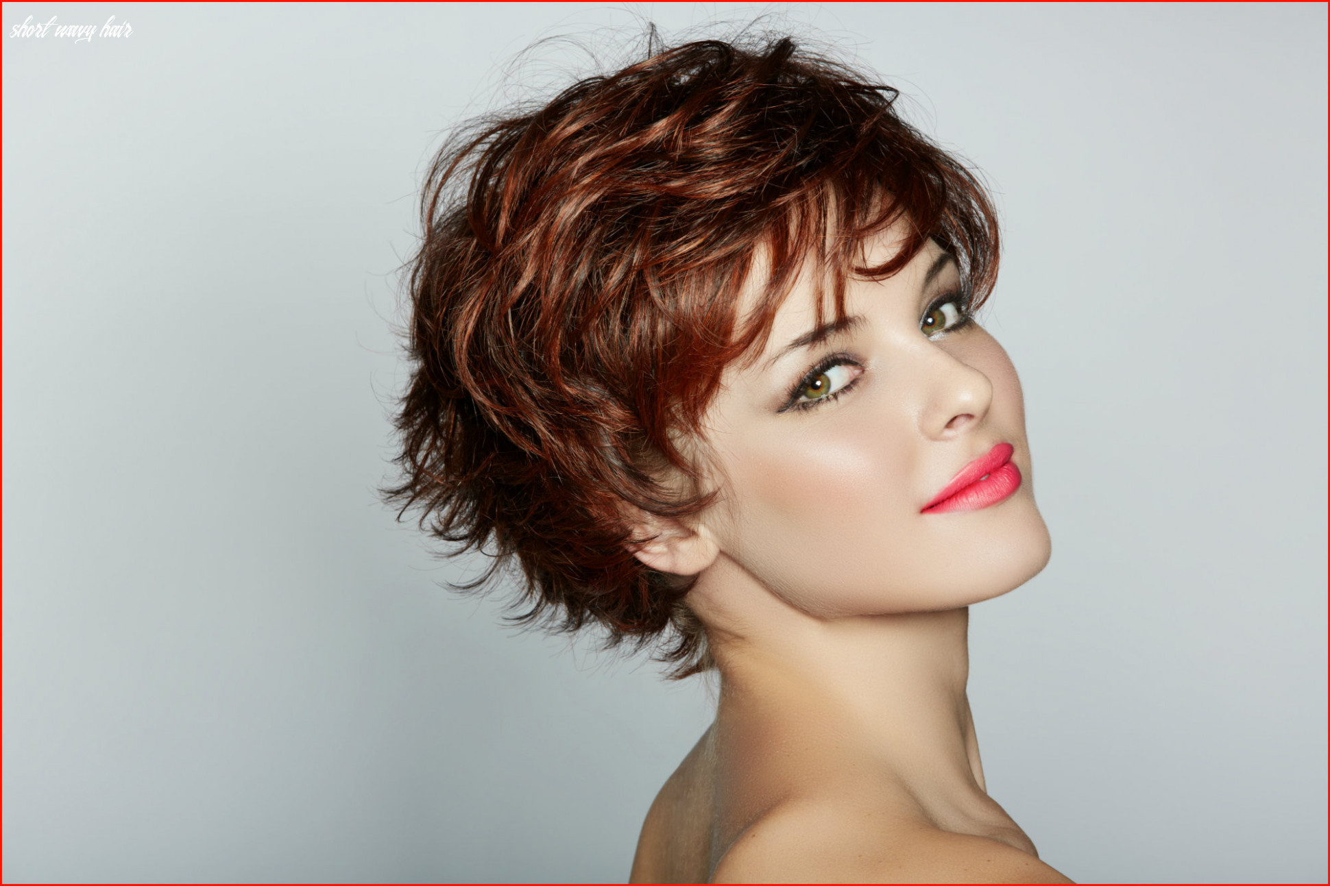 Cool short hairstyle wavy hair picture of short hairstyles ideas