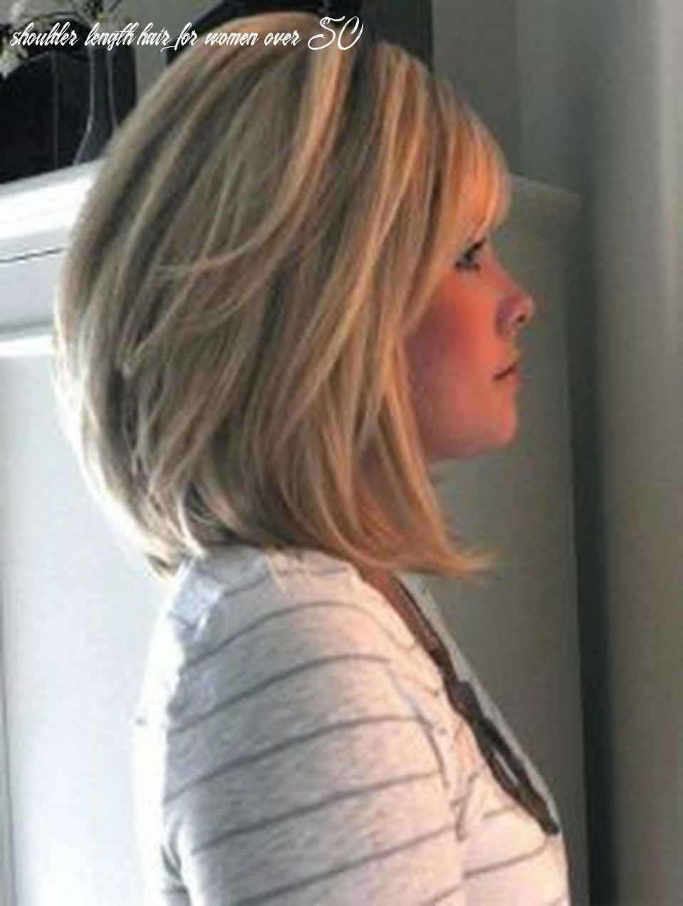 Cool shoulder length hairstyles for women over 8 8 (with images