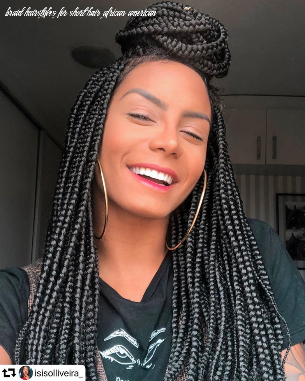 Crazy hairstyles for african americans   braids for short hair