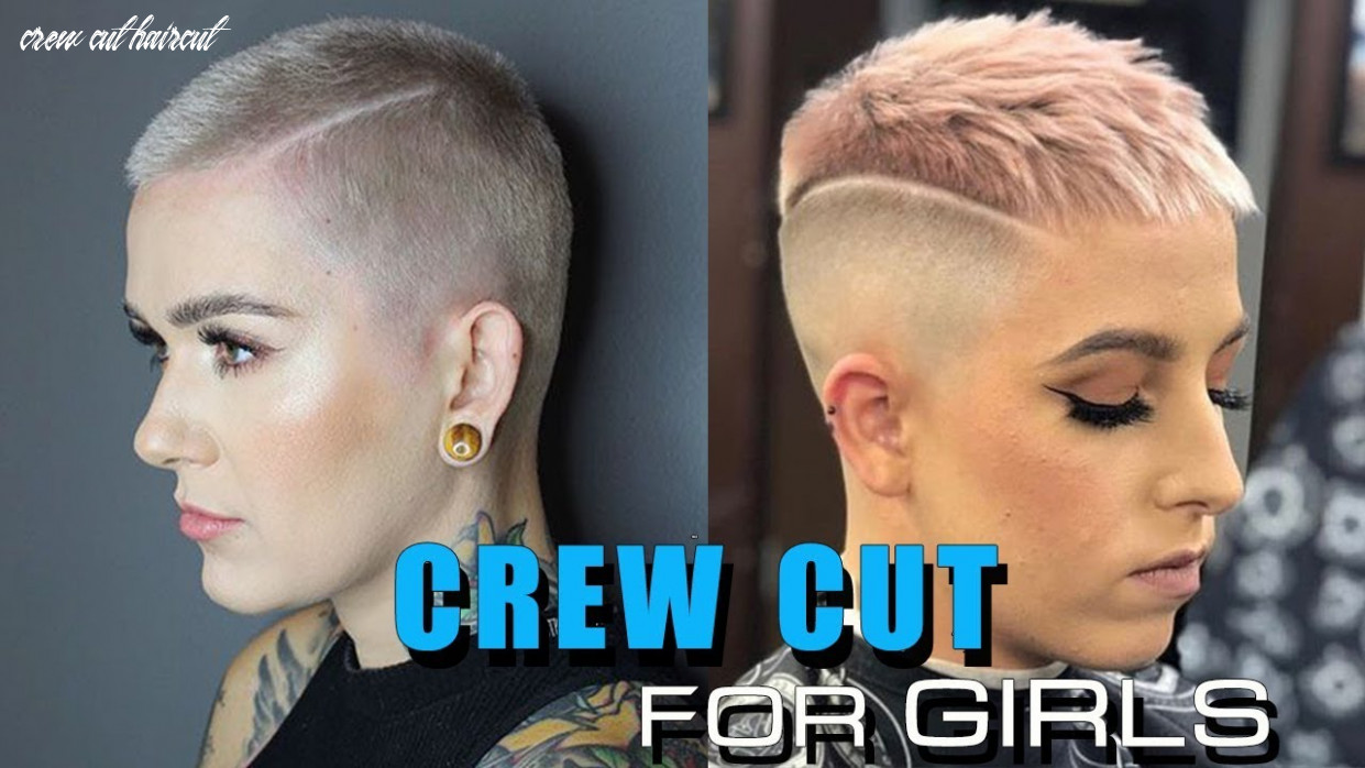 CREW CUT Haircut for Girls | Beautiful Channel - YouTube