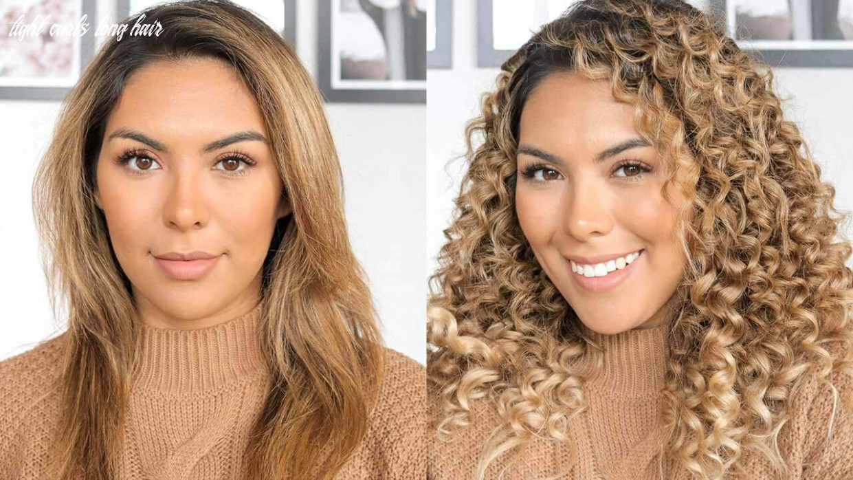 Curl hairstyles: how to get natural looking tight curls tight curls long hair