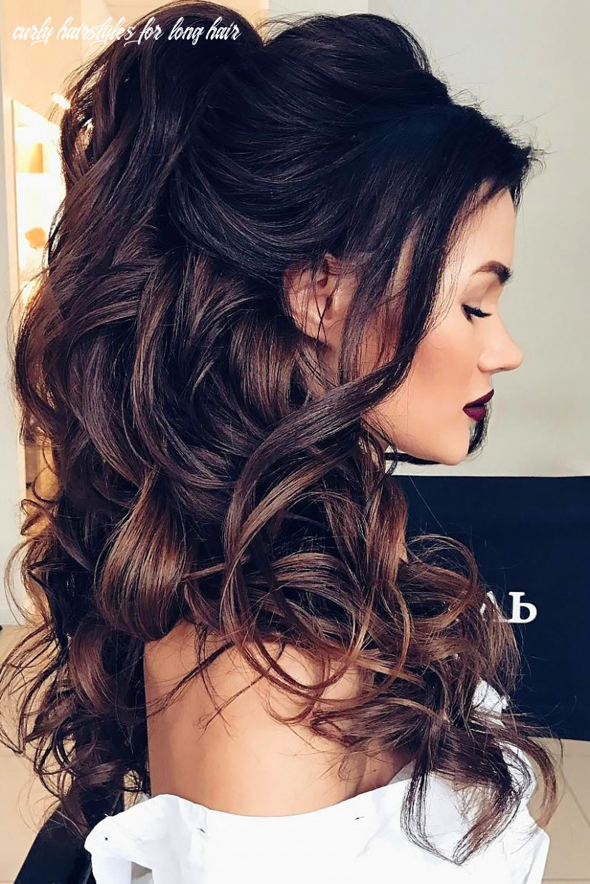 Curly wedding hairstyles from playful to chic   hair styles, curly