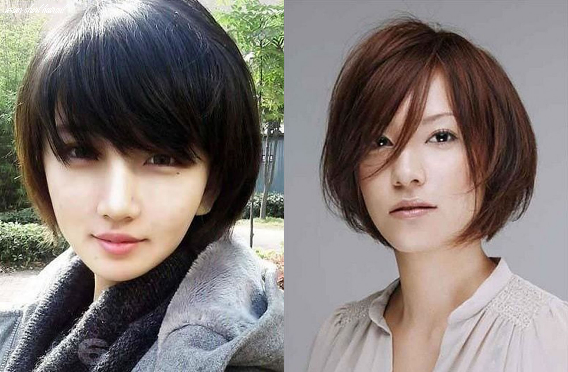 Cute 12 short haircuts for Asian amazing woman!