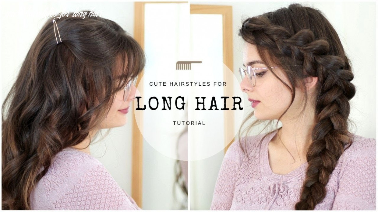 Cute & easy hairstyles for long hair quick hairstyles for long hair