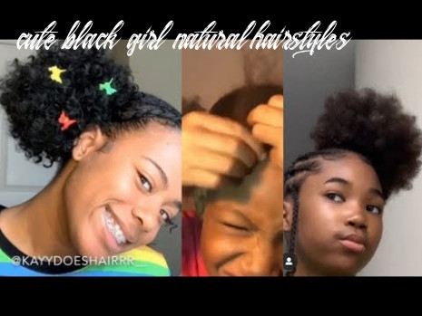 CUTE BLACK GIRL HAIR STYLES - YouTube
