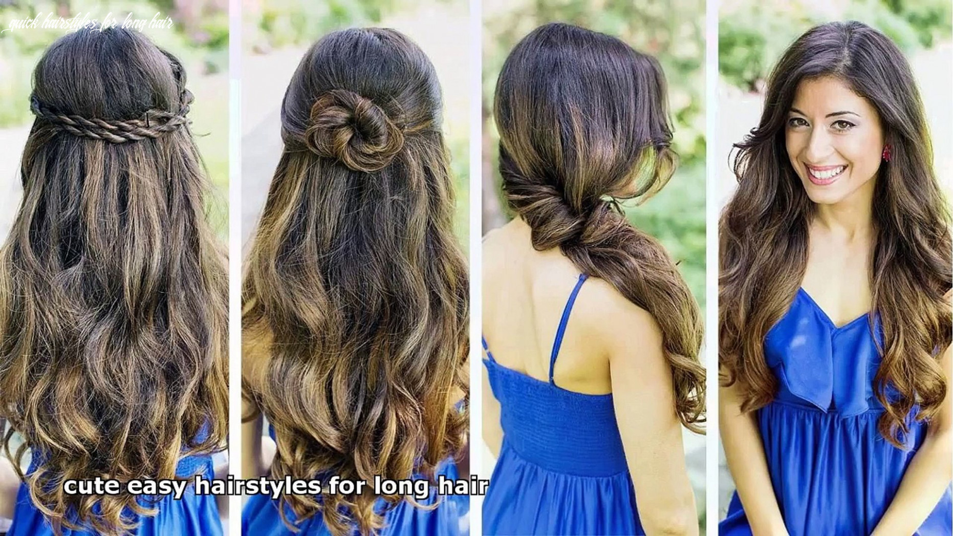 Cute easy hairstyles for long hair video dailymotion quick hairstyles for long hair