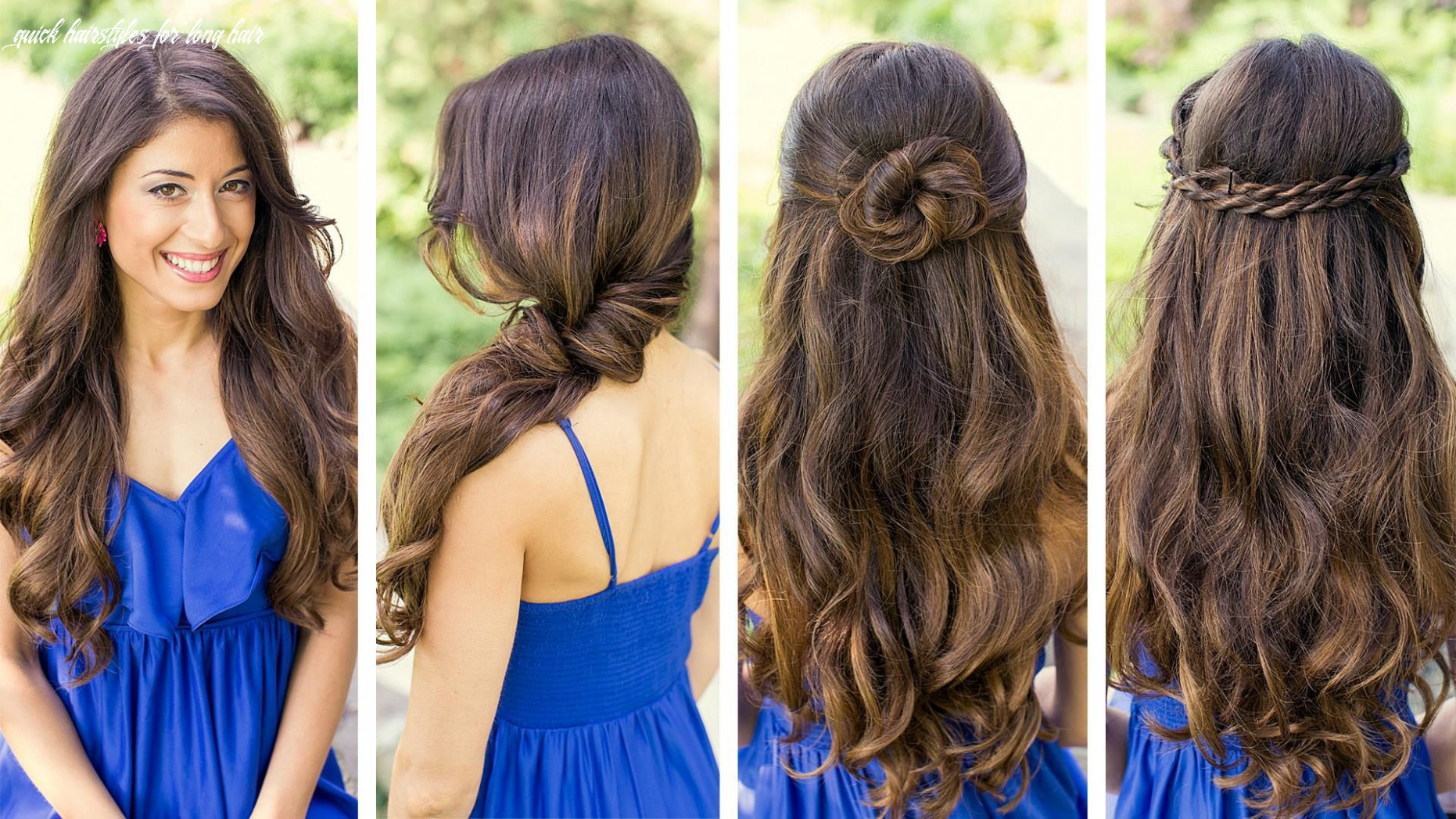 Cute hairstyles, cute and easy hairstyles, long hair hairstyles