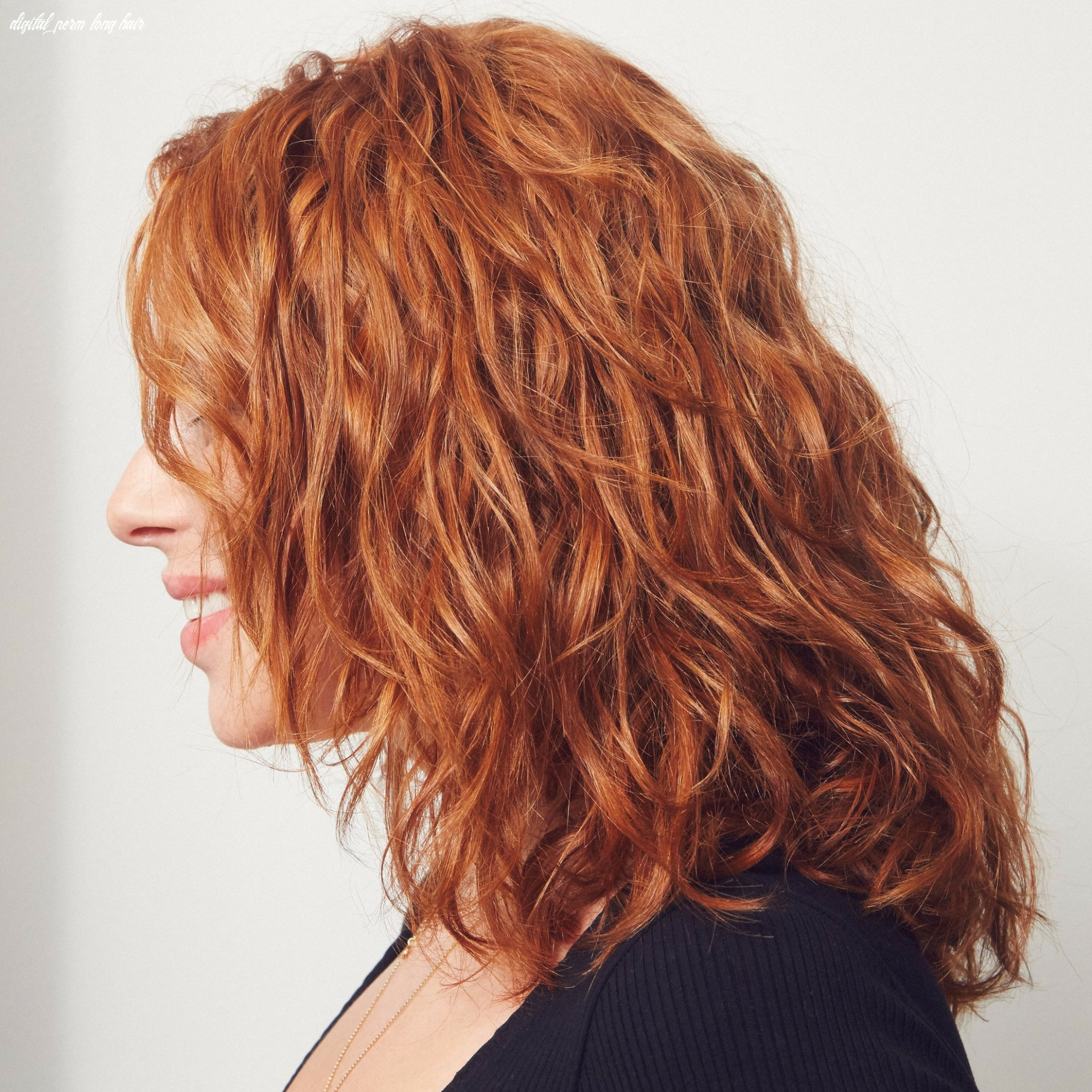 Digital perm | popsugar beauty digital perm long hair