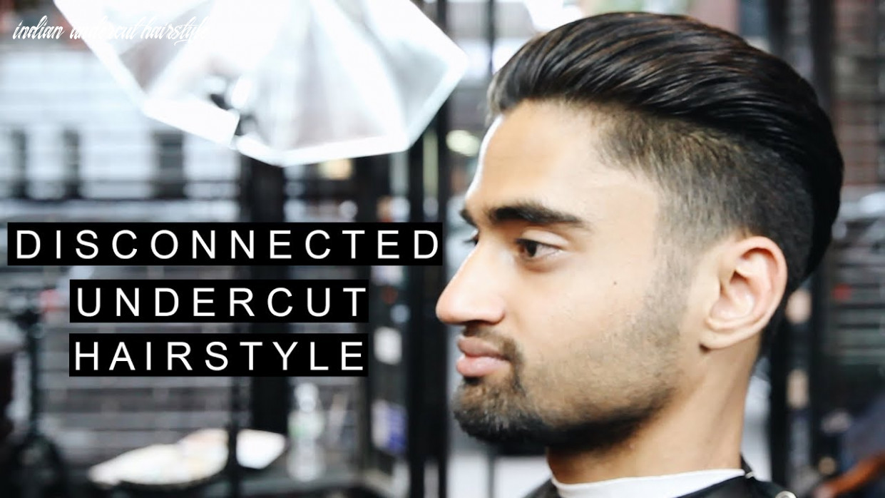 Disconnected undercut | cool hairstyle 9 | thick indian hair for men | fade indian undercut hairstyle