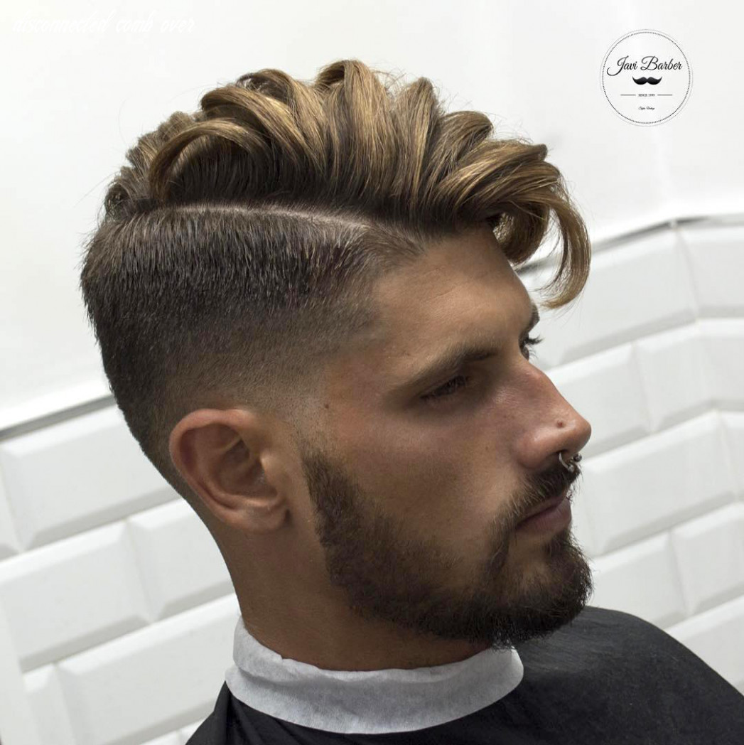 Disconnected undercut haircut for men in 10   mens haircuts trends disconnected comb over