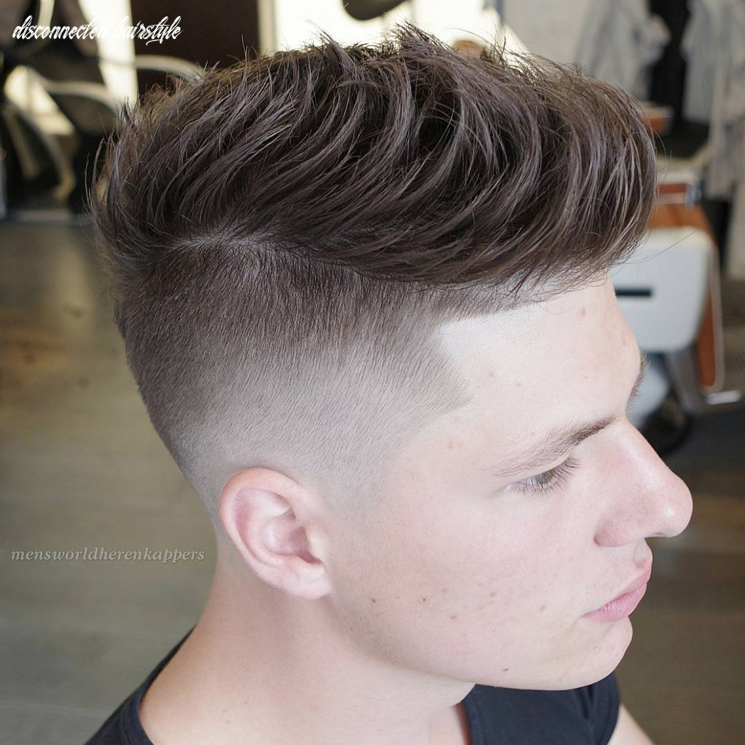 Disconnected undercut haircut for men in 8 | mens haircuts trends disconnected hairstyle