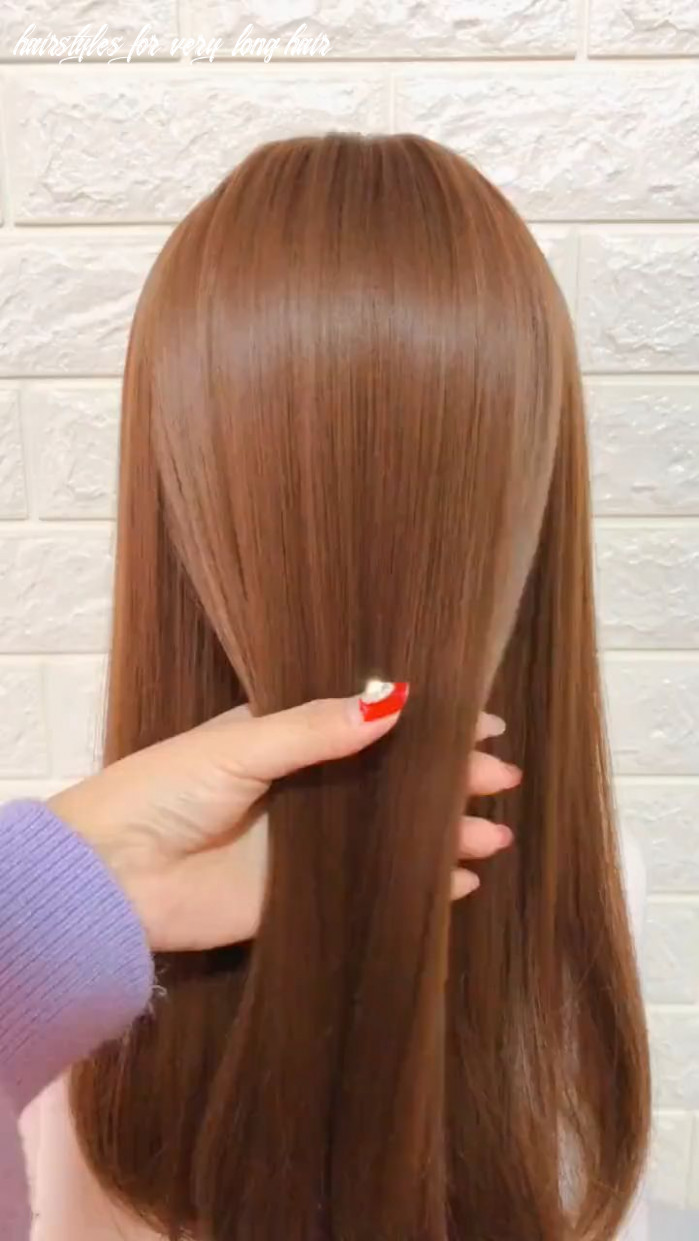 Easy and simple hairstyles for long hair girls 10 long hair