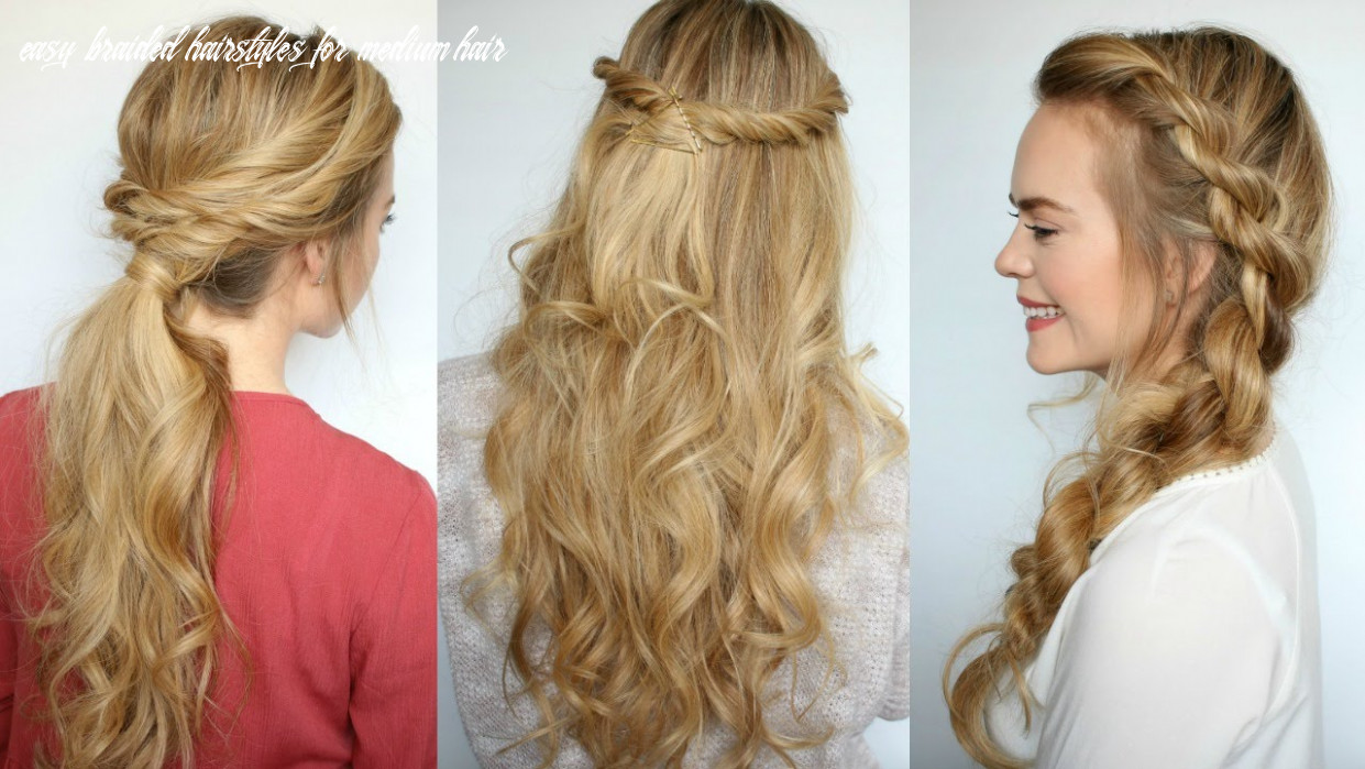 Easy braided hairstyles youtube - Hairstyles for Women