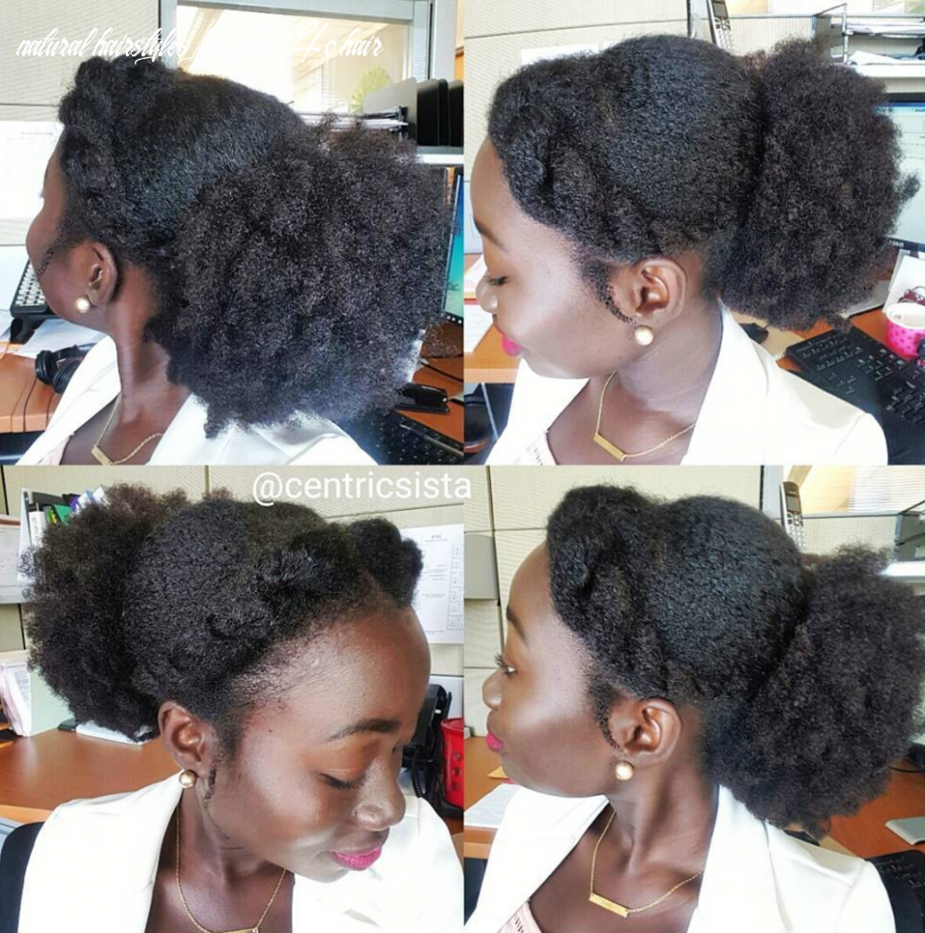 Easy hairstyles for 10c hair essence natural hairstyles for short 4c hair
