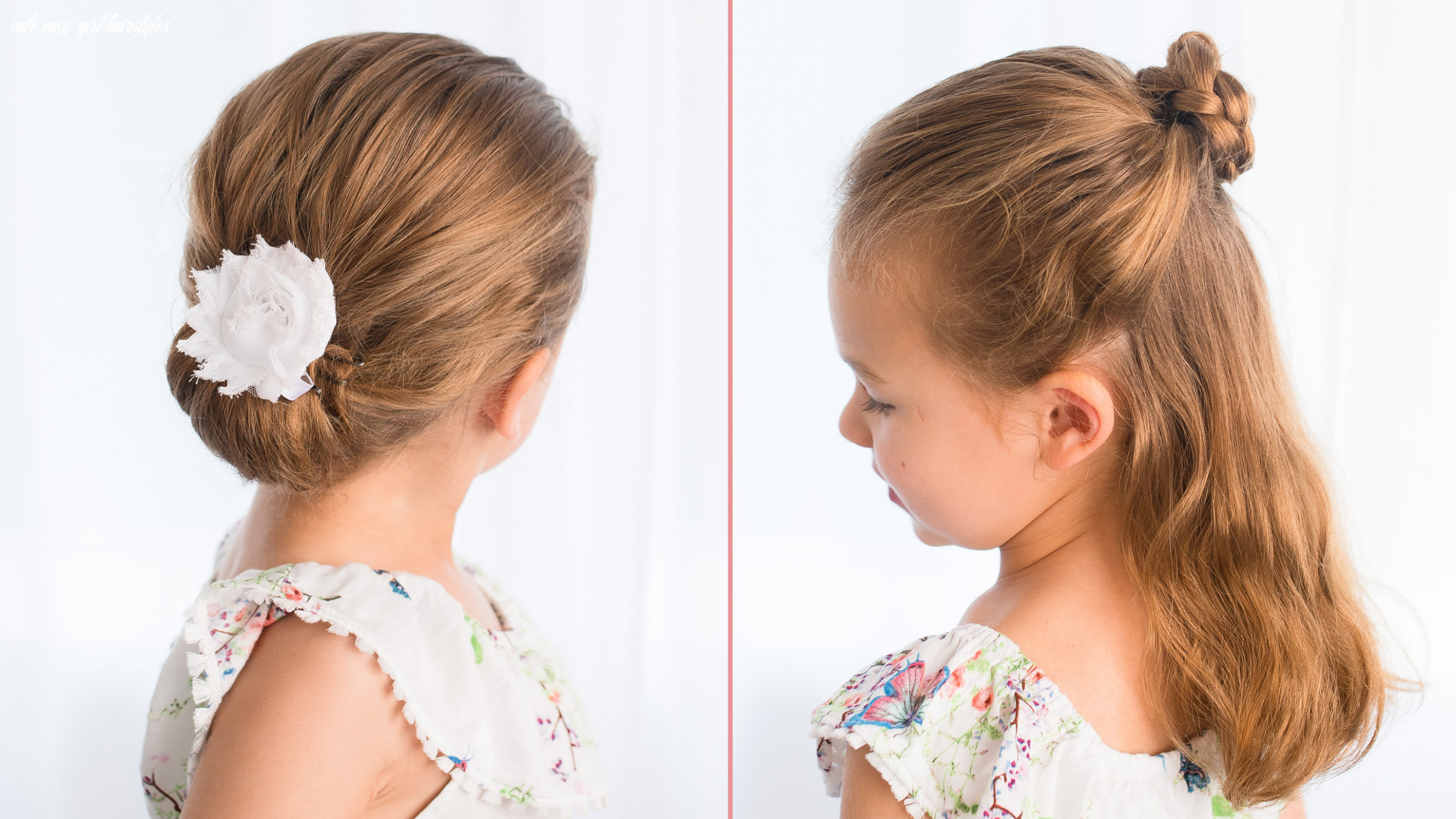 Easy hairstyles for girls that you can create in minutes cute easy girl hairstyles