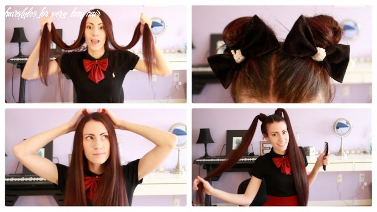 ♥ easy hairstyles for super long hair ♥ hairstyles for very long hair