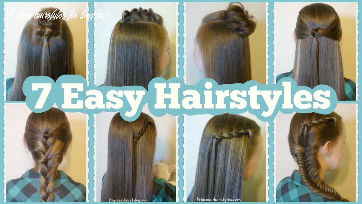 Easy hairstyles for very long hair step by step #hairstyle easy