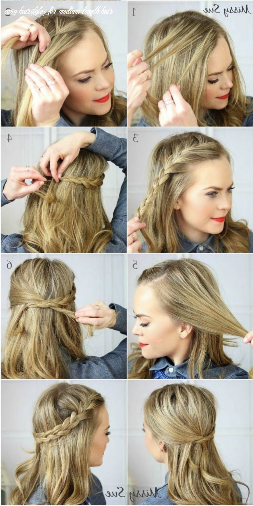 Easy how to hairstyles for medium hair quinceanera medium