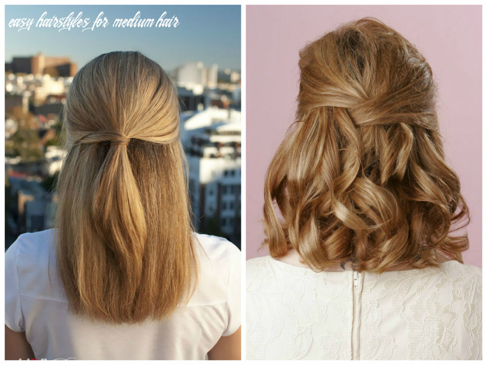Easy to do medium length hairstyles hairstyles for women easy hairstyles for medium hair