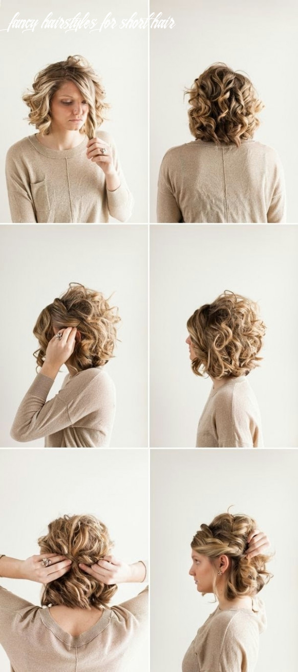 Easy updo hairstyles for short hair operanewsapp fancy hairstyles for short hair