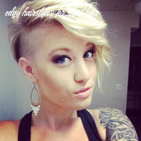 Edgy hairstyles for short hair | edgy hair, short shaved