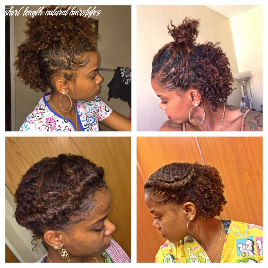 Emblematic Short Length Natural Hair Styles Short Length ...
