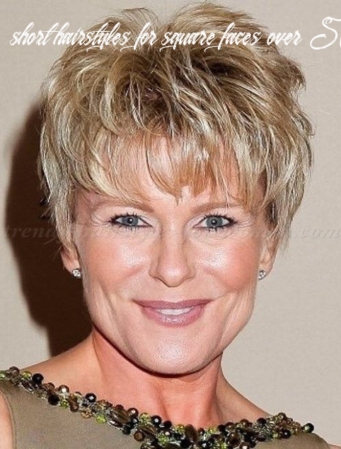 Faces shape hairstyles : short messy hairstyles with bangs for