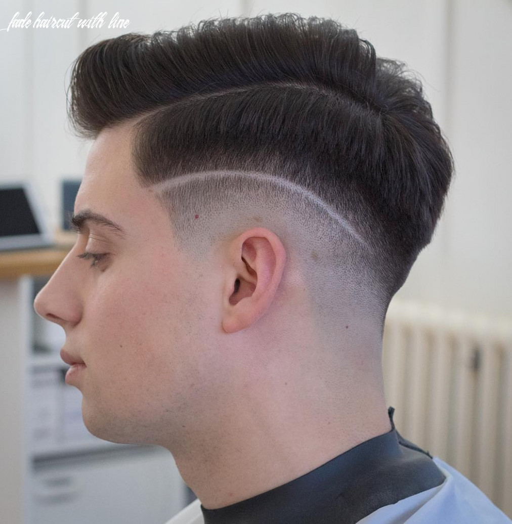 Fade Haircut With Line | Find your Perfect Hair Style