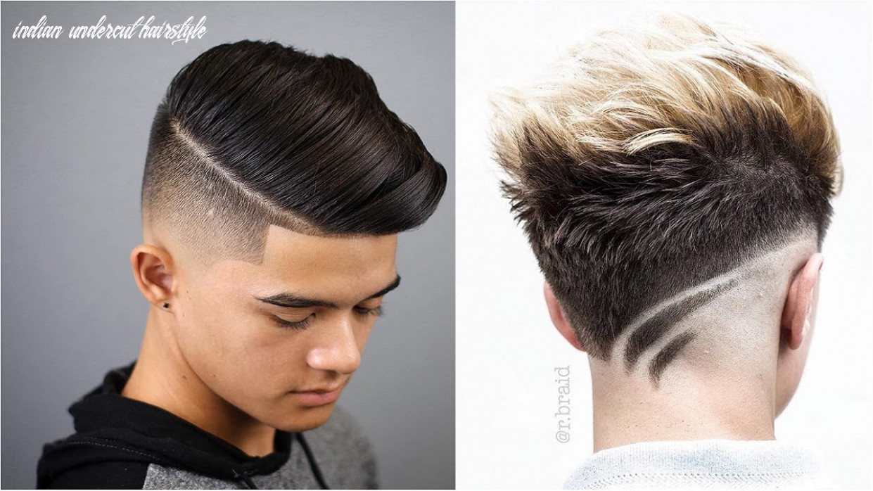 Fashionable trending hairstyles for men 9 indian , hairstyles for men 9 undercut, indian undercut hairstyle