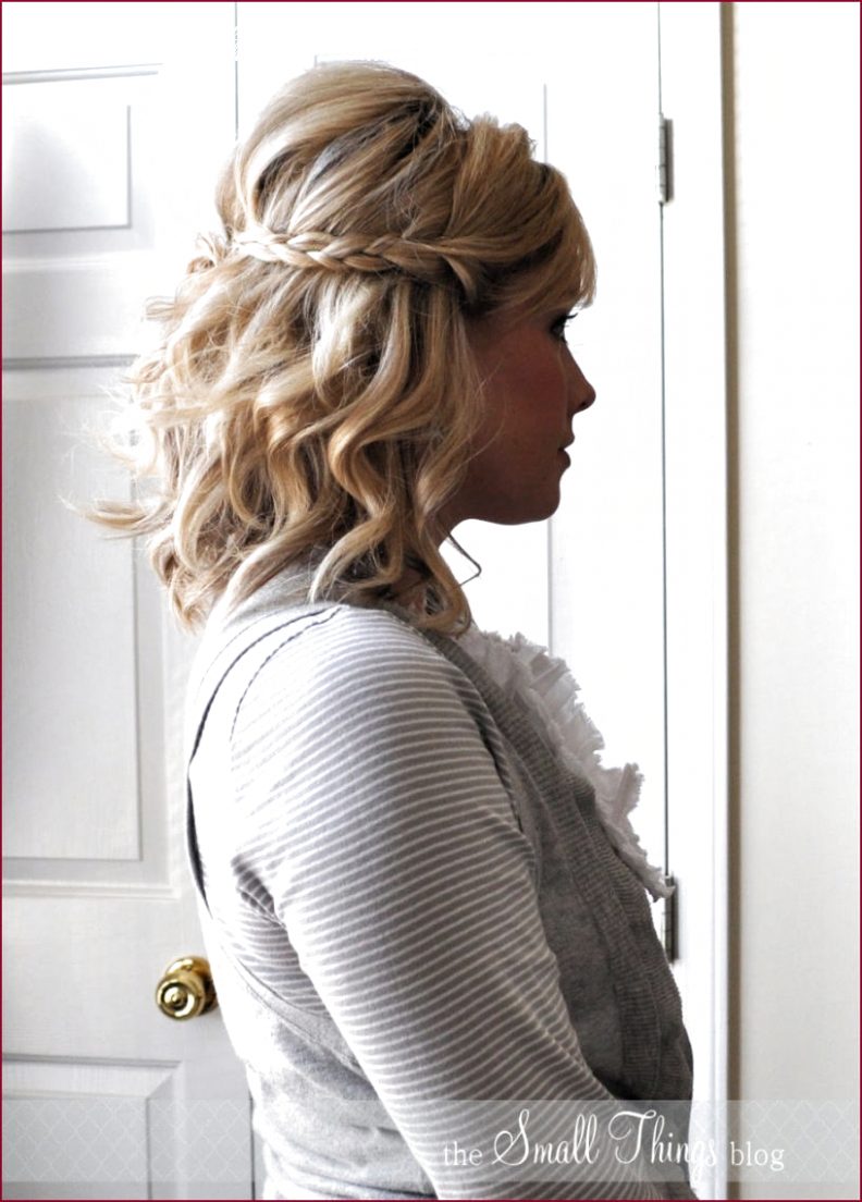 For Medium Hair Half Up Half Down Braids in 10 (With images ...