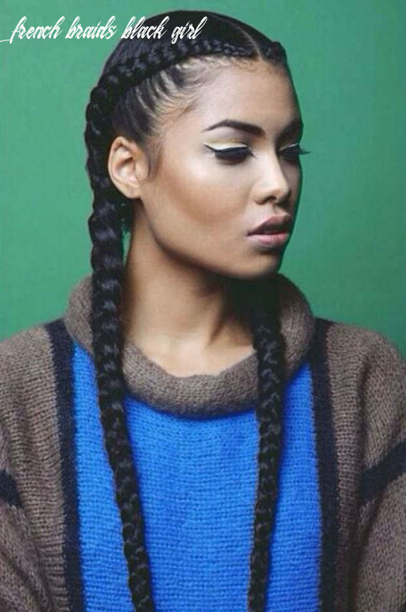 French Braid Hairstyles For Black Women - Easy Braid Haristyles