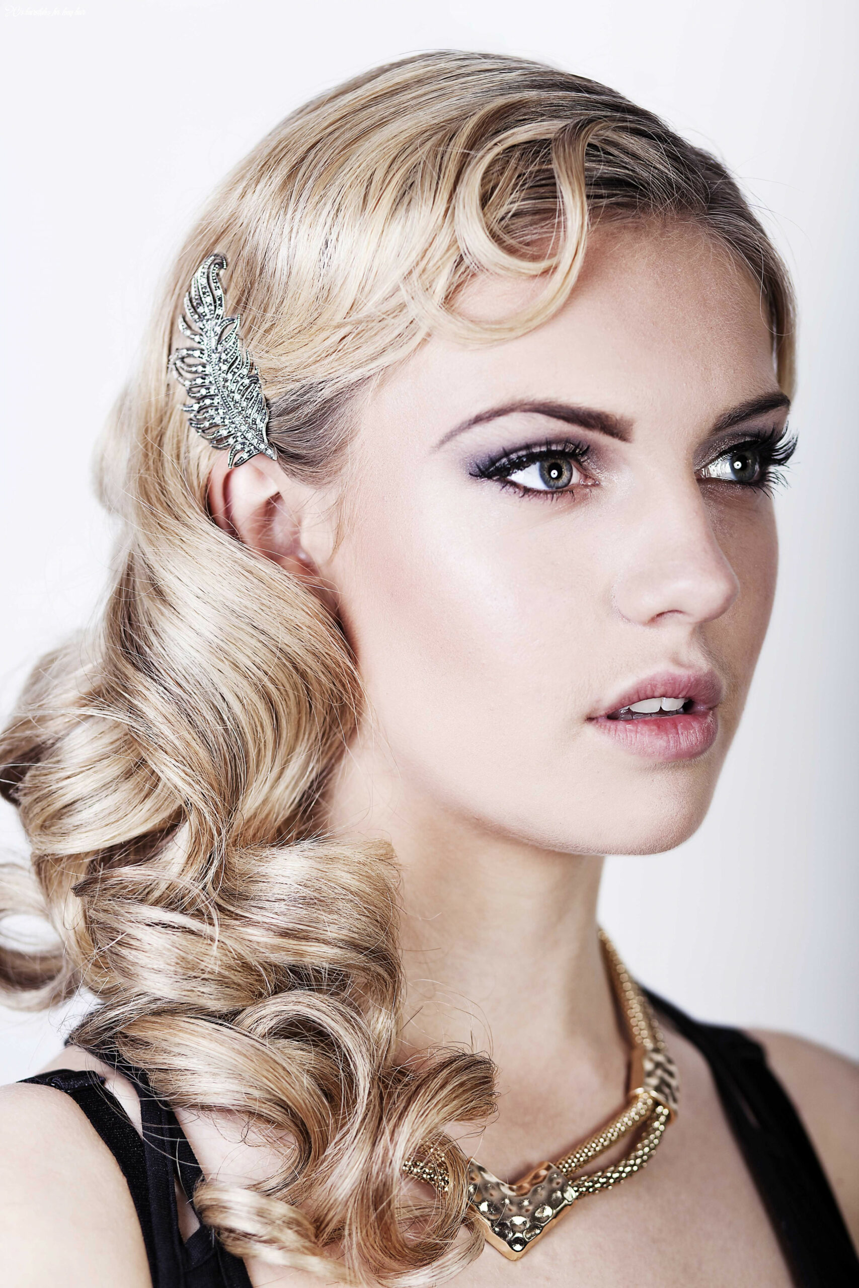Friday feature} seriously great gatsby 9s inspired hair & make up