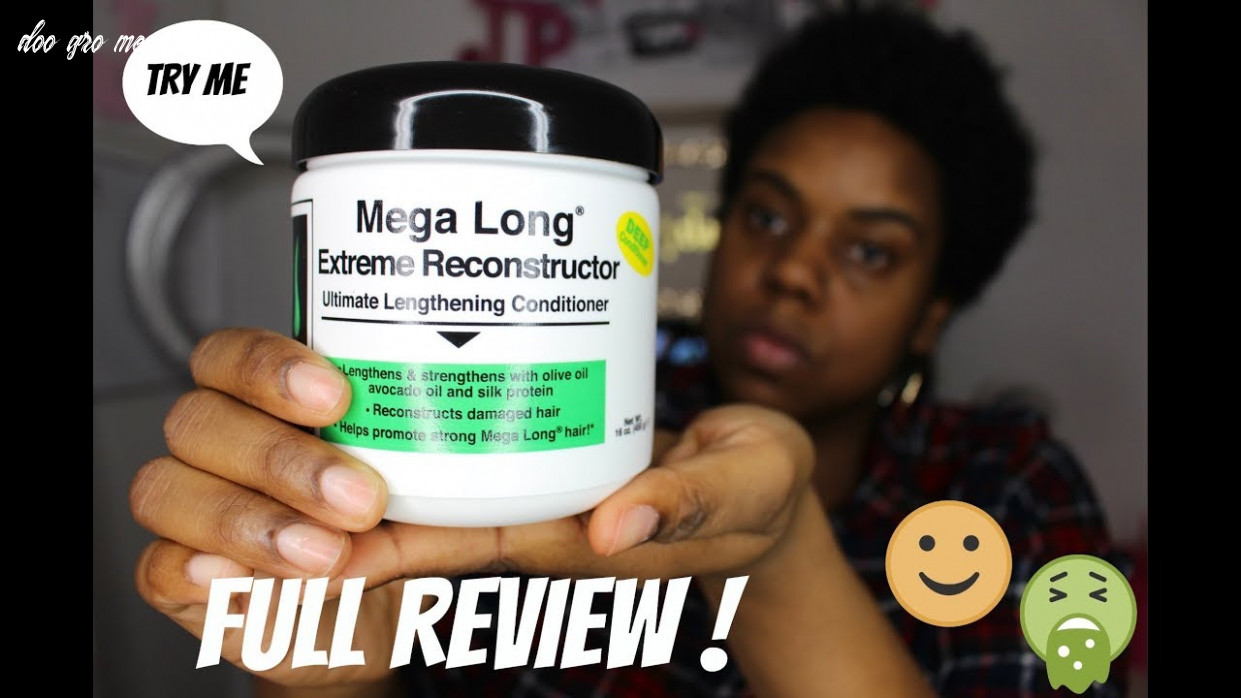 | FULL REVIEW | DOO GRO Mega Long Extreme Reconstruction DEEP CONDITIONER +  natural hair tips !