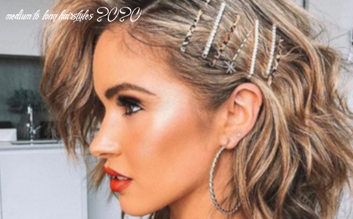 Game changing medium length hairstyles to rock in 12   fashionisers© medium to long hairstyles 2020