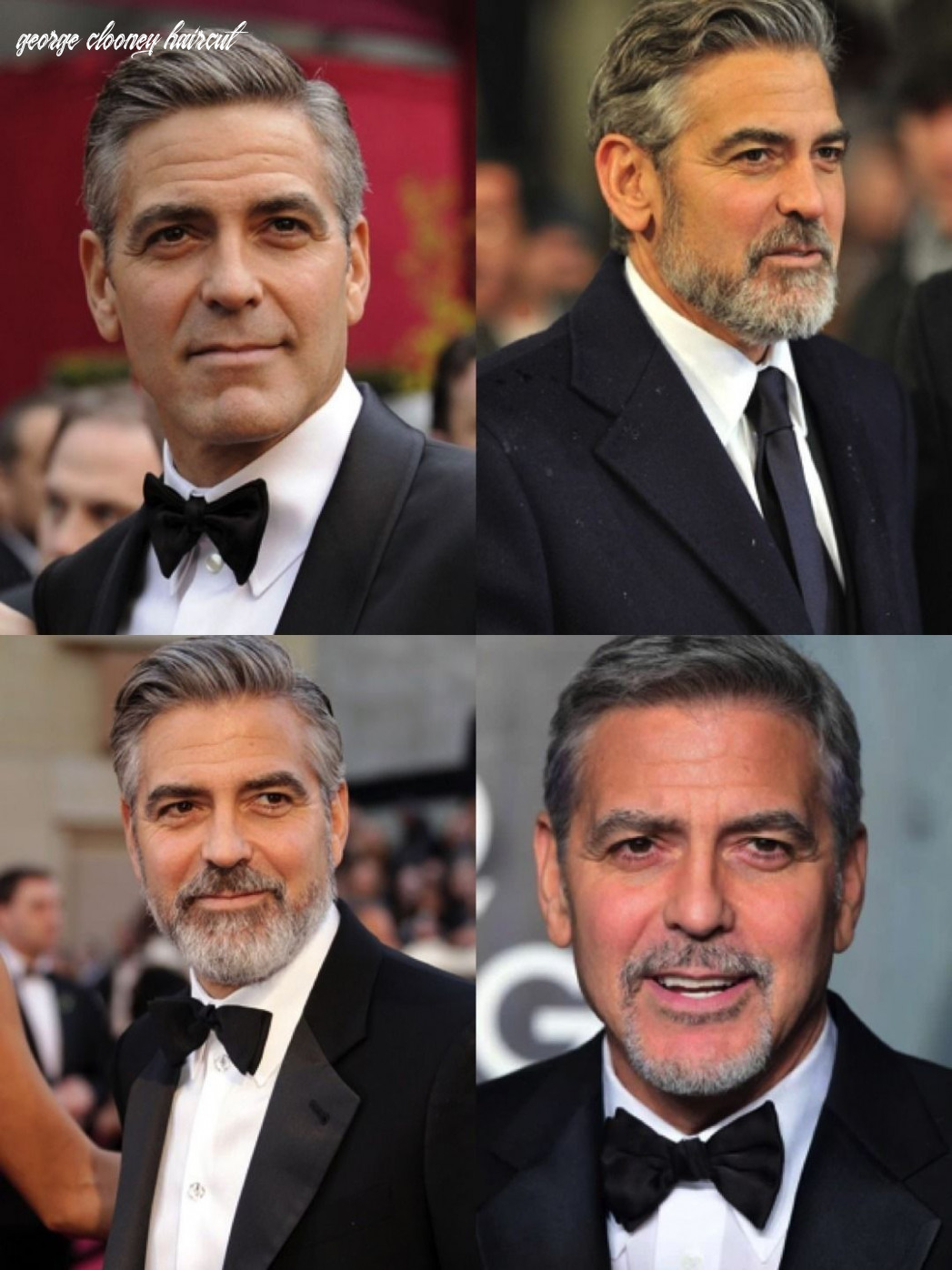 George clooney haircut: style it like clooney   george clooney